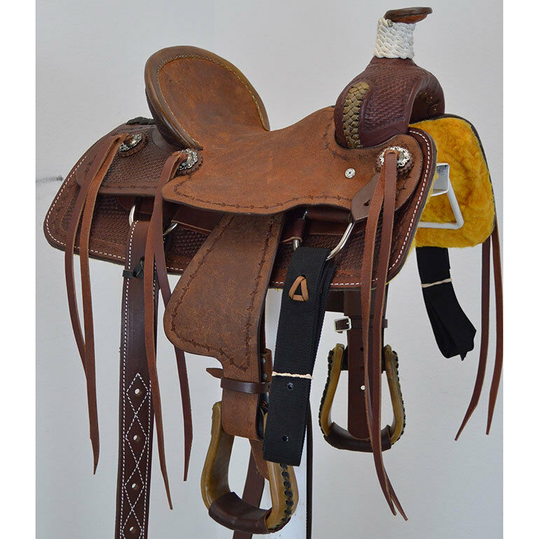 New  12 Coolhorse Youth Ranch Saddle Code  STSJRR12012MBBW