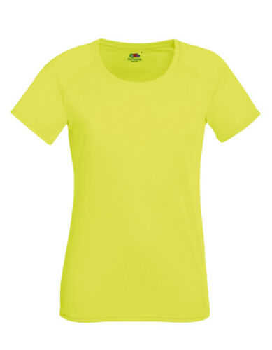 Damen Performance T-Shirt 2er Lady Fit Fruit of the Loom