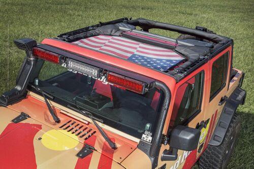 Eclipse Sun Shade Front Passenger For Jeep Wrangler JK 2007-2018 Rugged Ridge