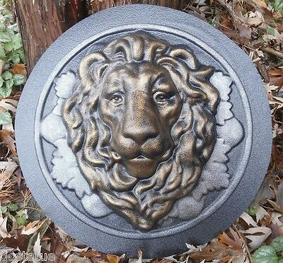 Plaster concrete LION  plastic mold mould see 4800 more molds in my ebay store