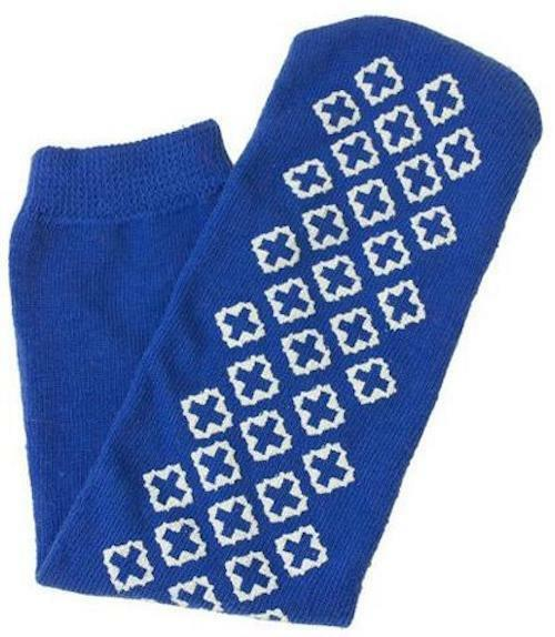 DryCast Cast Socks - No Toes Shall Ever Freeze - One Size. Blue or Red.