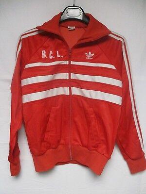 Veste ADIDAS FIRST vintage rouge jacket giacca ROBERT SPORT années 80 sport S | eBay