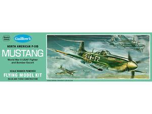 Model-Airplane-Kit-Guillow-039-s-WW-II-North-American-P-51D-Mustang-GUI-905