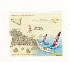 foglietto francobolli 32° vuitton cup trapani - 2005 - 1 valore da 2,58 euro