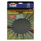 Atlas 2790 N Scale Manually Operated Turntable 21 Postions