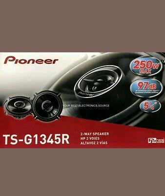 "1 PAIR 5.25/"" TSG1345R NEW Pioneer TS-G1345R 5-1//4/"" 2-Way Car Audio Speakers"