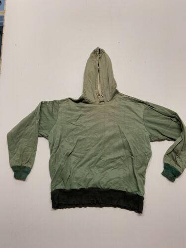 Crazy Rare 1940's Insulated Hooded Sweatshirt Medi