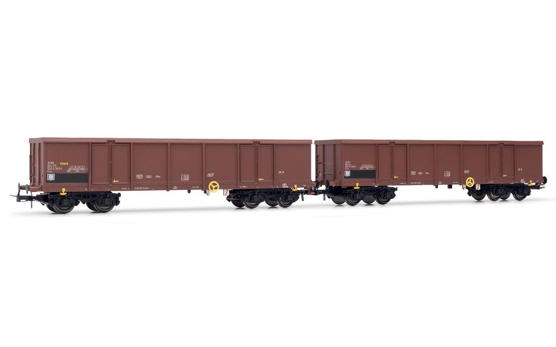 Rivarossi hr6331 FS Set  2 Chariots eaos with load of scrap EP V  produit de qualité d'approvisionnement