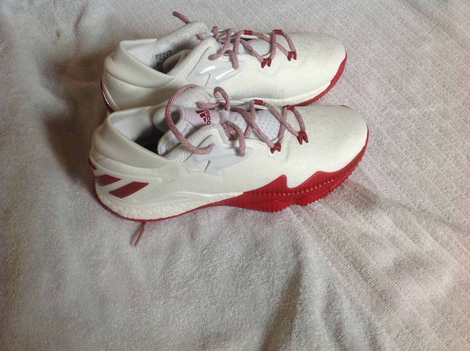 Adidas Crazy light boost men's 11 shoes James Harden MVP signature white red