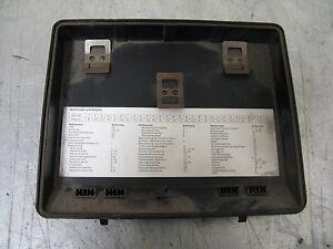 s l300 cover lid fuse box bmw e34 61131374029 ebay