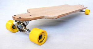 URBAN LONGBOARD Complete Skateboard Cruiser DROP DOWN MAPLE W CONCAVE DOWNHILL