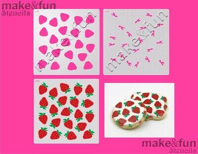Schablonen 3 pcs Cake Stencil Cookie Stencil Reusable Stencil