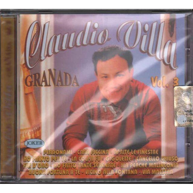 Claudio Villa CD Granada / Joker Sigillato 8004883225491