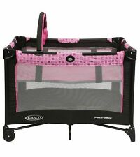 Graco Deluxe Pack N Play Playard Play Pen Bassinet Pink Princess Katherine NEW