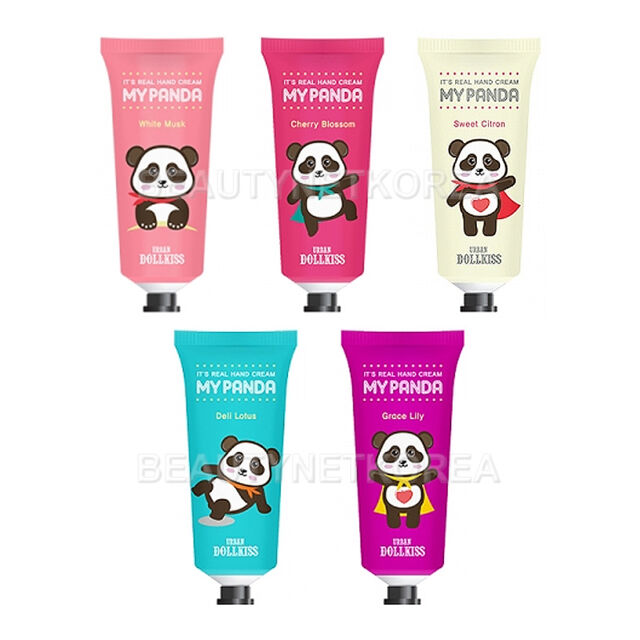 [URBAN DOLLKISS] It's Real My Panda Hand Cream 30g 5 Type / Soft fragrances