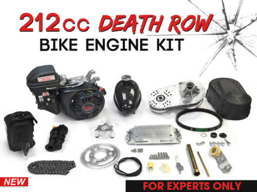 212cc Death Row                   Bike Engine Kit - 4-Stroke - Gas Motorized Bicycle                   Engine kit