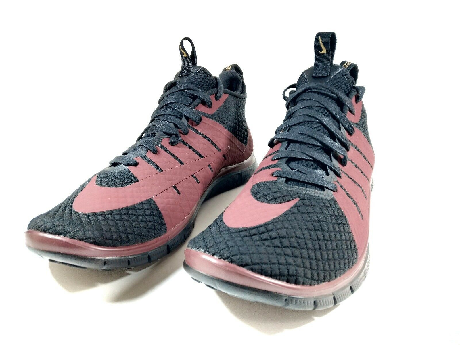 Nike Free Hypervenom 2 FC Athletic Trainer Lifestyle Casual Black Red Men Size13