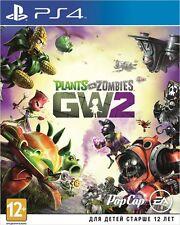 *NEW* PLANTS VS ZOMBIES Garden Warfare 2 SONY PS4 GAME ENGLISH VERSION 12+