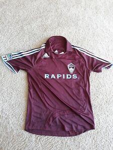 e94783ea5 2008 Adidas Colorado Rapids Jersey Men s Medium Burgundy Maroon NWT ...