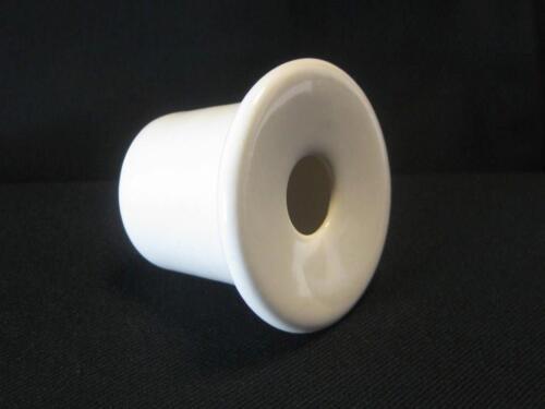 "WHITE SCHOOL DESK INKWELL ceramic ink pot insert /""chose 4 sizes 4 colours/"""