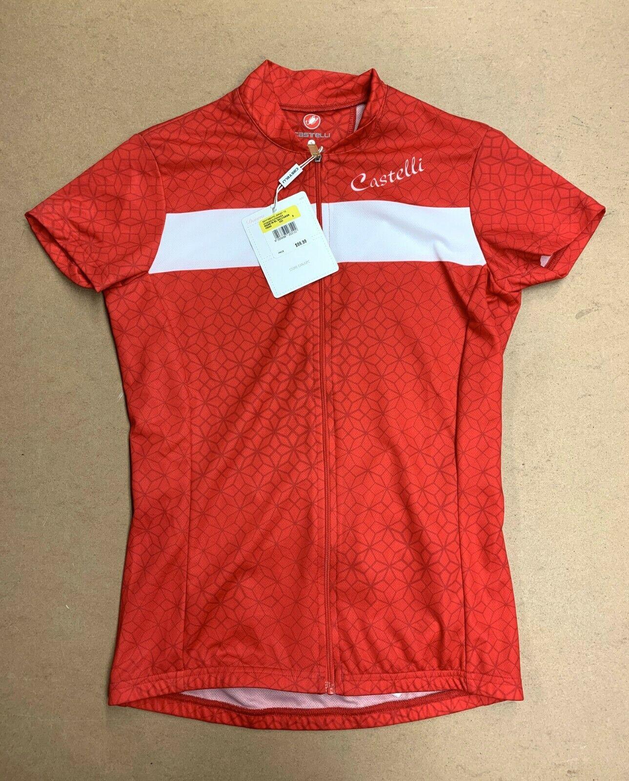 Camiseta de bicicleta Castelli, Código FZ.