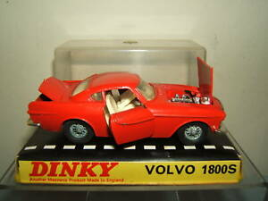 Dinky Toys Modèle n ° 116 Volvo «1800s» Coupé sport Vn Mib  1800s