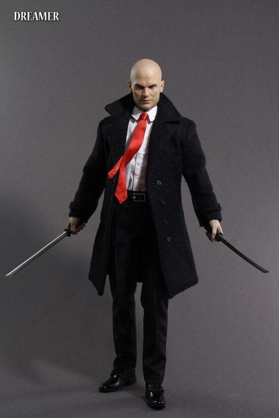 1 6 Solider cifra Dreamer Dreamer Dreamer Hituomo 47 12  Male cifra Suit Head giocattolo Collection 4f21fe
