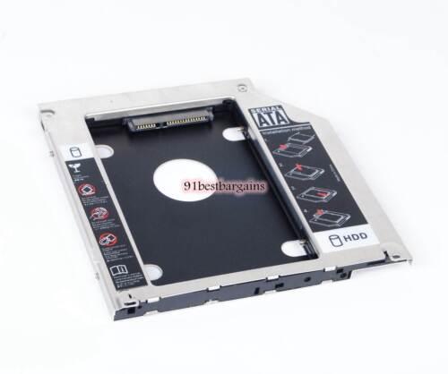 2nd HDD HD SSD SATA Hard Drive Unibody Caddy for MacBook Pro 2009 2010 2011 2012