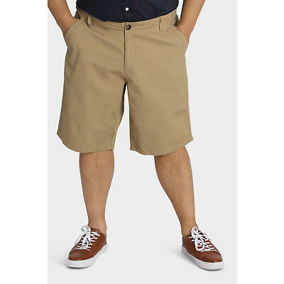 NEW Jack Stone 3XL-7XL Bedford Short Tan