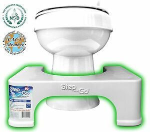 Squatty Toilet Potty Stool By Step And Go 174 7 Quot New Ebay
