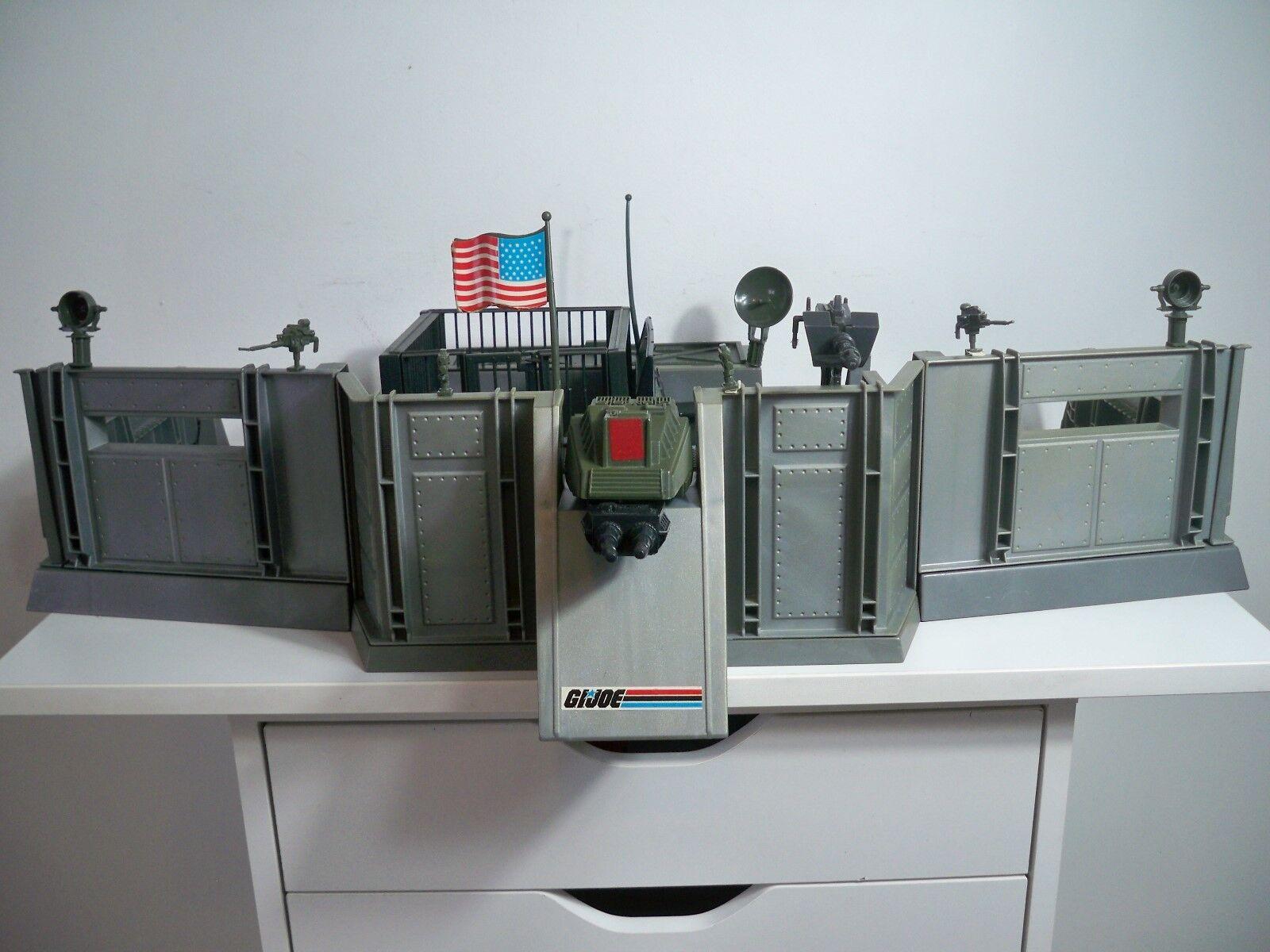 K1884922 HEADQUARTERS COMMAND CENTER W BOX 100% COMPLETE GI JOE 1983 VINTAGE