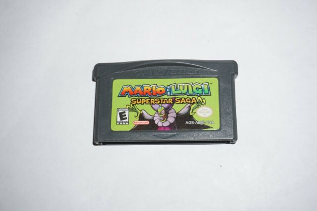 Mario Luigi Superstar Saga For Nintendo Game Boy Advance Gba For