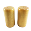 Salt Pepper Shakers Wood Cylinder Sugar Bowl Handmade Vintage Retro Kitchen 9 Cm