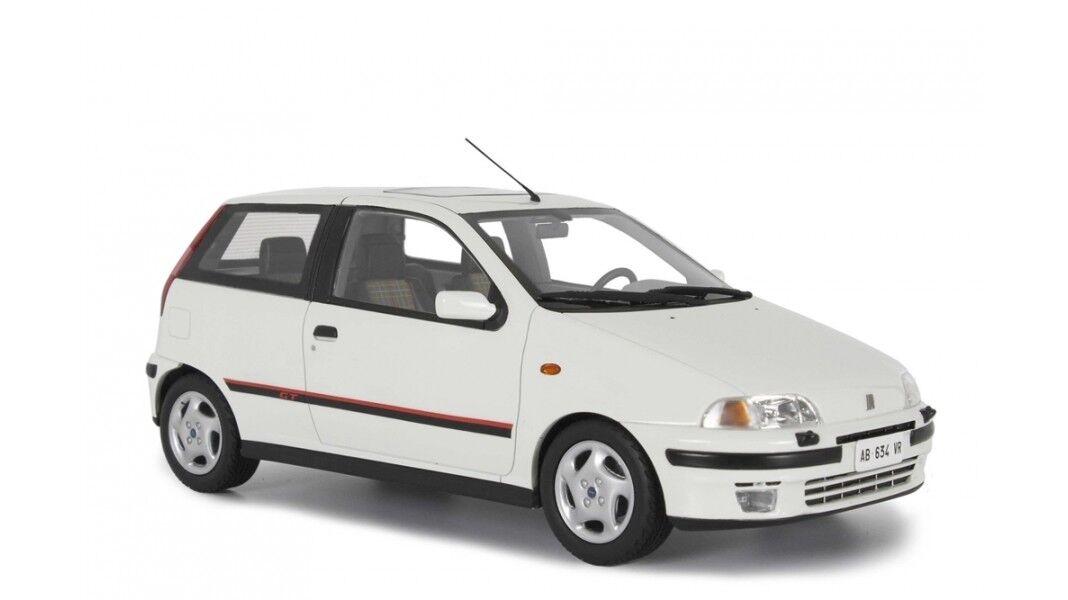 Fiat Punto Gt 1400 1° Serie 1993 Bianco bianca LAUDORACING 1 18 LM113A