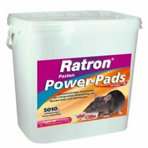 FRUNOL DELICIA® Ratron® Pasten Power-Pads 29 ppm  5010g gegen Ratten und Mäuse