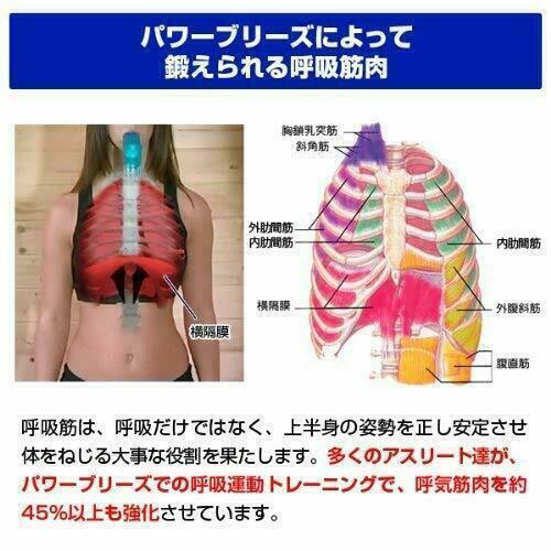 Power Breeze POWERbreathe plus Heavy load Green Respiratory Muscle