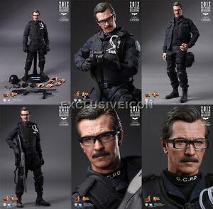 Hot Toys MMS182 Batman The Dark Knight 1//6 Lt Jim Gordon S.W.A.T Suit Open New