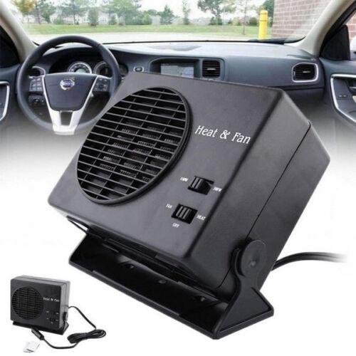 12V Ceramic Car Fan Heater Heating Cooling Defroster Demister Plastic /& Ceramics