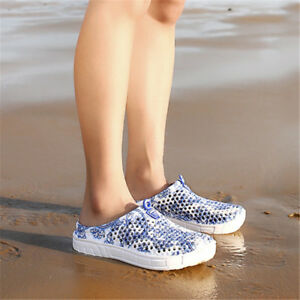 Men-Women-Water-Shoes-Yoga-Exercise-Pool-Beach-Aqua-Slippers-Slip-On-Surf-Shoes