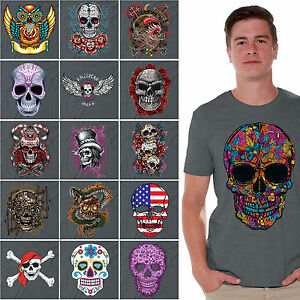 Day-of-the-Dead-shirt-Halloween-Dia-De-Los-Muertos-Sugar-Skull-t-shirt-CHARCOAL