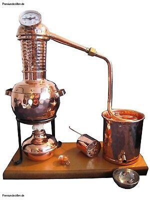 """Destille B-Ware /""""Kalif/"""" mit Aromakorb und Thermometer Kratzer"""