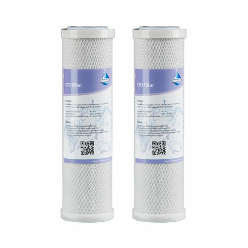 2x Compatible Pre/&Post Filter Cartridge For GE Smart Water RO FX12P,FX12M,FXWTC
