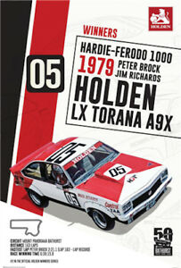 Holden-1979-Bathurst-Winner-POSTER-61x91cm-NEW-Peter-Brock-LX-Torana-A9X