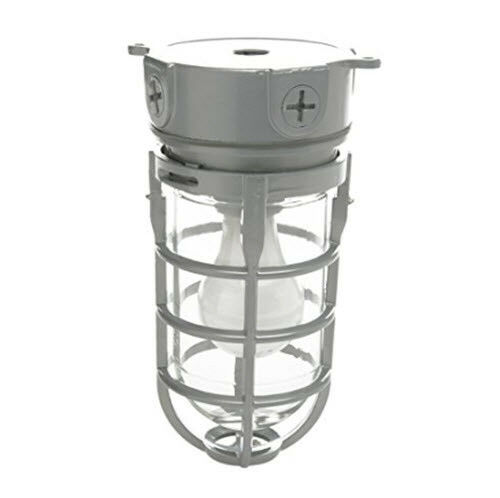150W Incandescent Woods Vandal Resistant Security Light With Ceiling Mount