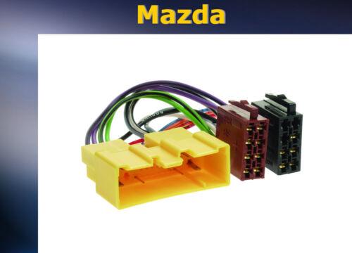 /& gt2002 = radio cable de conexión adaptador Mazda 626 2001
