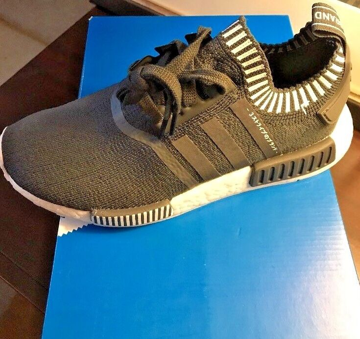 Adidas Nmd R1 PK JAPAN BOOST GREY. Men's Us Size 6.5, Women's 7.5.