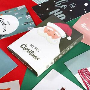 30pcs-Merry-Christmas-Cartoon-Xmas-Postcards-Post-Cards-Posters-Greeting-Cards