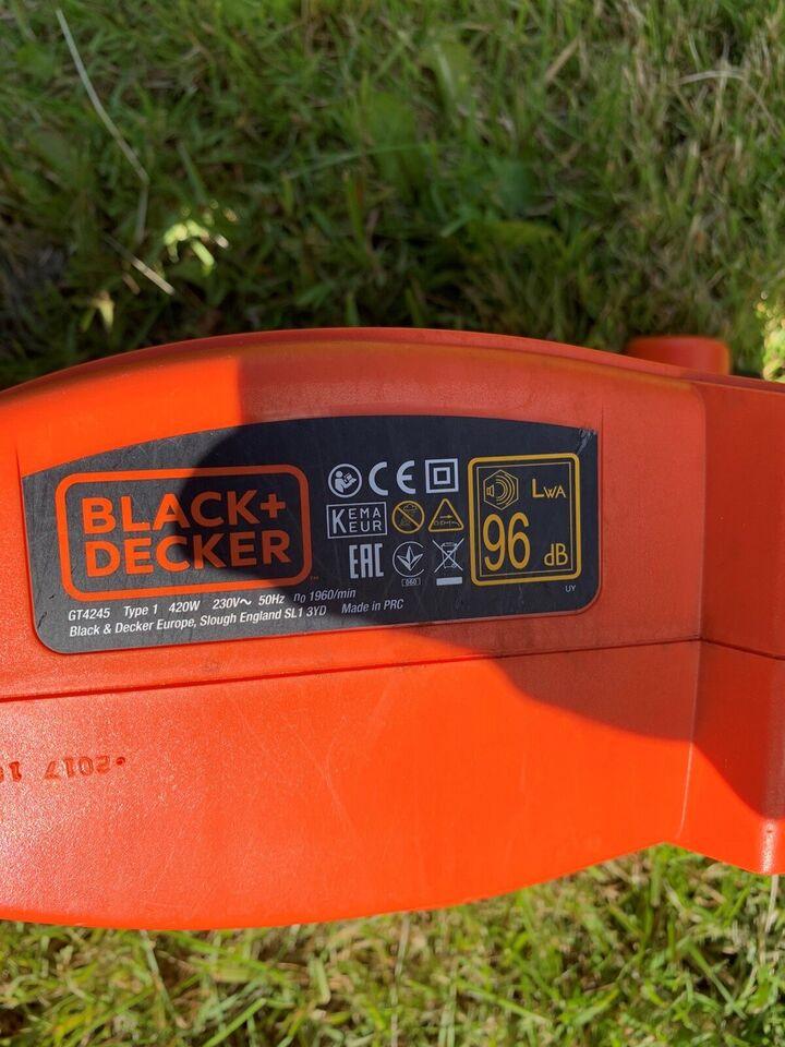 Hækklipper, Black & Decker