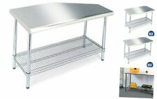 Seville Classics Commercial Grade Nsf Top Work Table 49 W X 24 D X 355 H