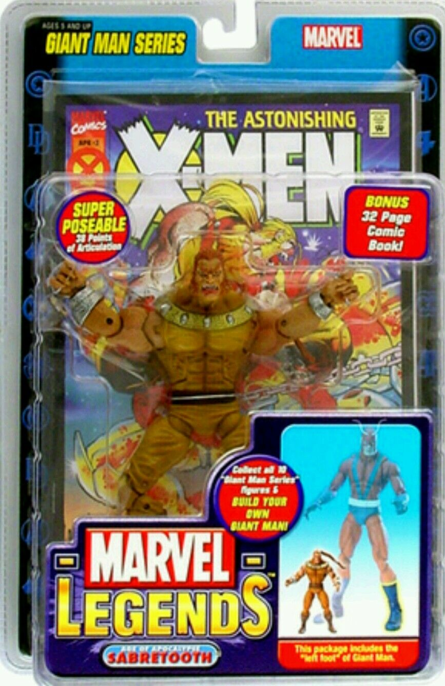 Marvel legends Giant Man series  Sabretooth 6-inch
